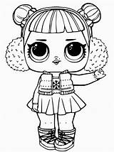 Coloring Lol Pages Doll Dolls Print Surprise Popular sketch template