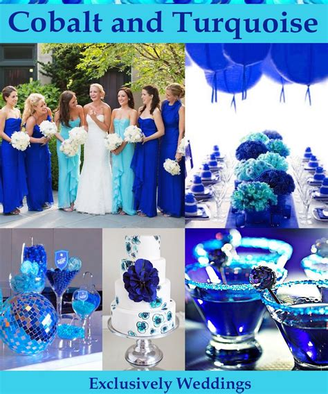 blue wedding color schemes blue wedding color five combinations