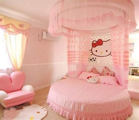 décoration chambre de fille hello