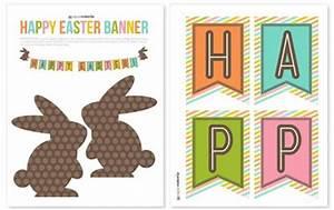 zakka life: Free Printable: Easter Bunting