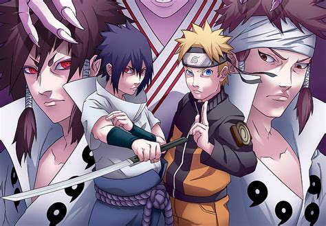 wallpaper naruto  sasuke rikudou anime cornersz