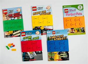 Easy DIY LEGO® Book Birthday Party Favors and Tags