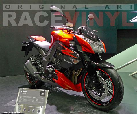 new stickers kit for kawasaki z1000 racevinyl europe