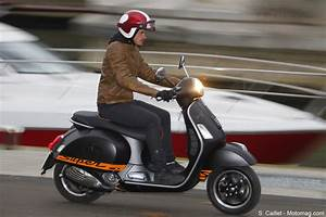Vespa 300 Occasion : essai vespa gts supersport 300 ie la reine des moto magazine leader de l actualit ~ Medecine-chirurgie-esthetiques.com Avis de Voitures