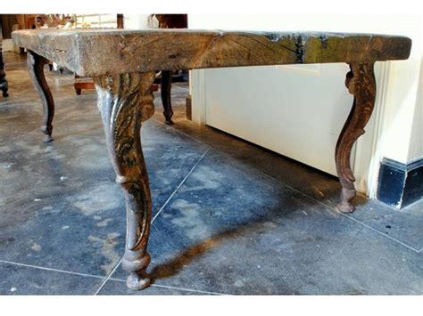 Rustic Coffee Table With Iron Legs Robuckco