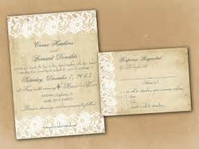 free wedding invitation sles vintage wedding invitation template