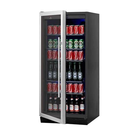 Beverage Fridge by Beverage Cooler Fridge Glass Door Upright Refrigerator