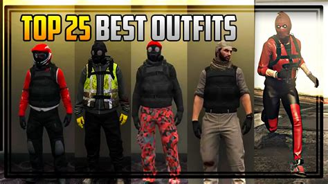 TOP 25 BEST u0026 COOLEST OUTFITS IN GTA ONLINE! - clipzui.com