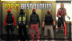 TOP 25 BEST u0026 COOLEST OUTFITS IN GTA ONLINE! - YouTube