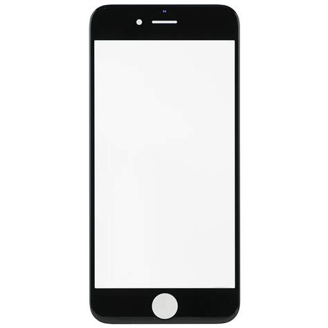 iphone 6 front microspareparts front glass black high copy iphone 6