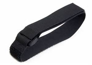 velcro for attachment to arm wrist or equipment