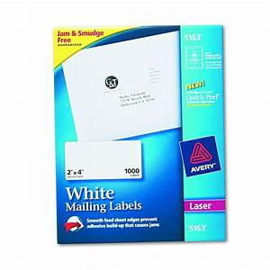 avery dennison easy peel white address label adrs 2x4 With 2x4 colored labels