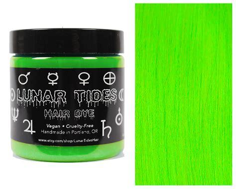 Aurora Green Hair Dye Lunar Tides Lunar Tides