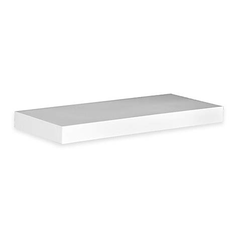 36 inch white floating shelves southern enterprises chicago 36 inch floating shelf in 7335