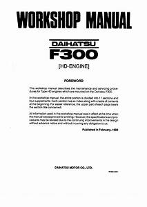 146a237 Daihatsu Fourtrak Wiring Diagram