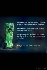 Minecraft funny... Stupid Minecraft Quotes