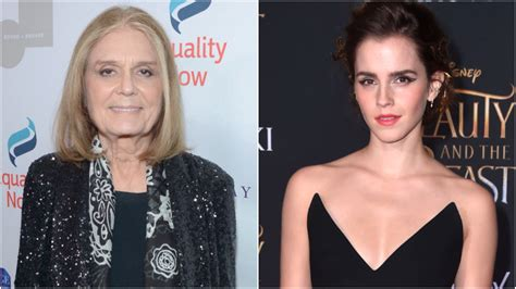 Gloria Steinem Emma Watson Can Wear Whatever She Wants
