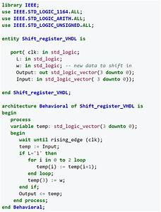 Hello  I Need Some Help Writing  Understanding Vhdl