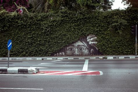 Graffiti With Actual Trees