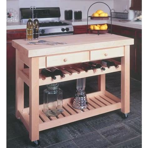 bild woodworking project paper plan  kitchen island