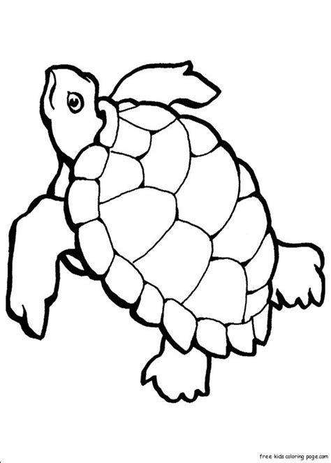 print  turtle ocean colouring pages  kidsfree printable coloring pages  kids