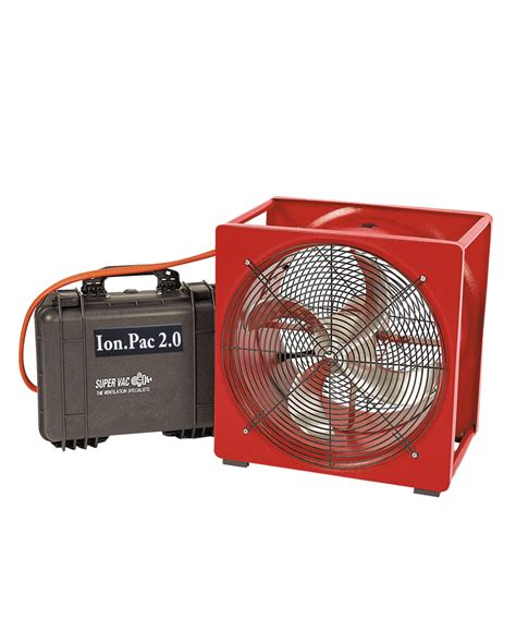 fans that run on batteries p164b electric battery powered smoke ejector super vac
