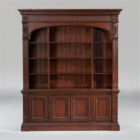 Ethan Allen Townhouse Curio Cabinet by Ethanallen Townhouse Library Bookcase Ethan Allen