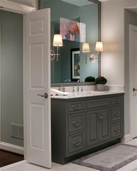 oval freestanding tub  front  french doors cottage