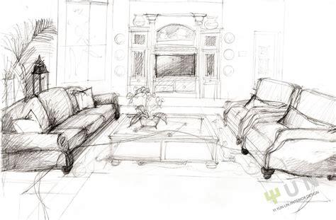 Interior Design Sketches  Interior Design