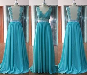 long chiffon turquoise blue bridesmaid dresses wedding With turquoise dress for wedding guest