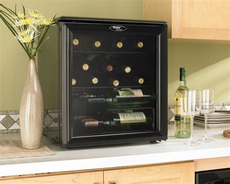 countertop wine cooler dwc172bl danby 17 00 bottles countertop wine cooler