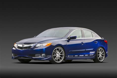 acura shows its street build ilx at sema