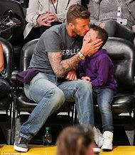 David Beckham Son Cruz