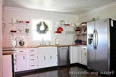 colors for a small kitchen diy kitchen makeover with white painted cabinets open 8264