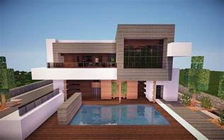 contemporary modern house squared modern home minecraft house design