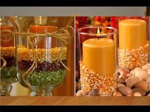 DIY thanksgiving decorations projects ideas - YouTube