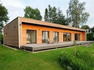 Holzhaus von Baufritz Bungalow Modern