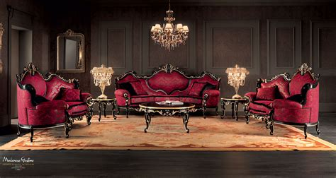 Luxusvilla Innen Wohnzimmer by Venetian Sitting Room With Luxury Carved Sofas And