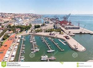 Port And Marina In Lisbon Stock Photo Image 44745052