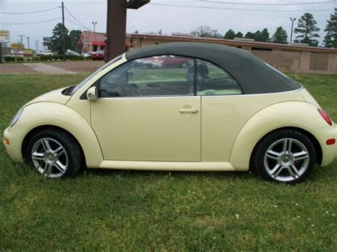 how to sell used cars 2005 volkswagen new beetle on board diagnostic system sell used 2005 vw beetle convertible turbo in