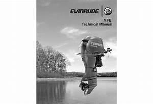 Service Manual 2012 Evinrude Mfe 55 Hp  P  N 5008736