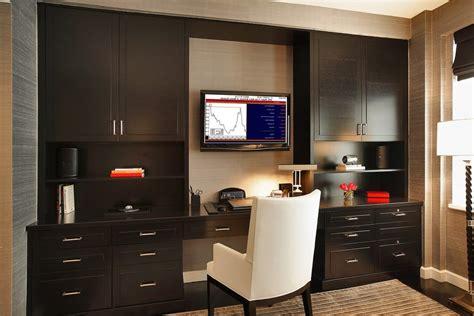 wall desk units home office transitional  custom unit