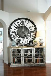 Grande Horloge Murale Design : l 39 horloge murale id es en photos pour d corez vos murs ~ Nature-et-papiers.com Idées de Décoration