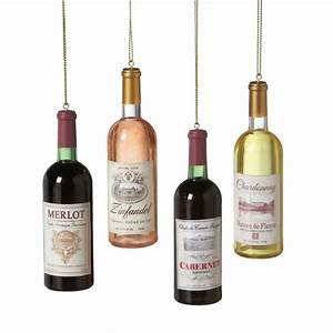 Lighted Wine Bottle Stoppers Wine Bottle Merlot Zinfandel Cabernet Chardonnay Ornaments