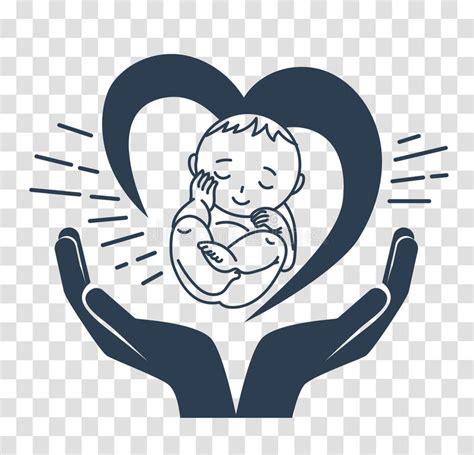 clipart nascita bambino profili l icona della nascita di un bambino illustrazione