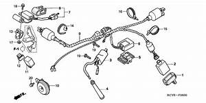 Wire Harness   Ignition Coil For 2004 Honda Xr400