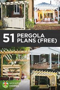 51 DIY Pergola Plans & Ideas You Can Build in Your Garden