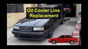 Engine Oil Cooler Line Replacement  Turbo Volvo 850  S70  Xc70  V70 - Votd
