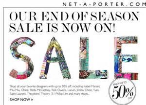 net a porter end season sale deals high end