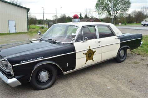 sell   ford galaxie  police car mayberry
